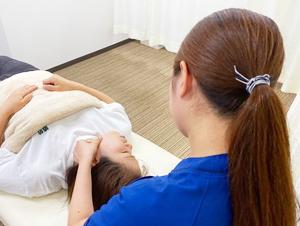 顎関節の施術